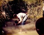 Baptizing in Tanzania