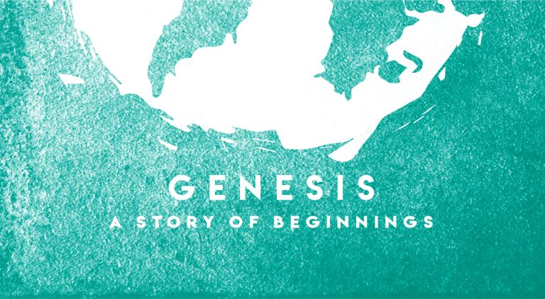 genesis sermon background teal