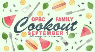2019 SEP Summer Church Cookout 2